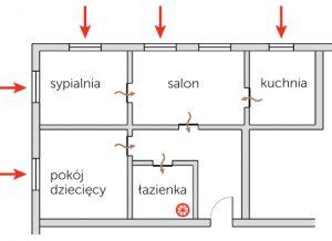 Odprowadzanie powietrza dla łazienek z arimeo