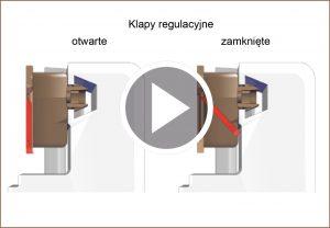 arimeo nawiewnik okienny klapy regulacyjnie